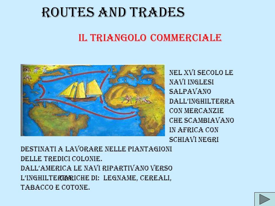 Il triangolo commerciale