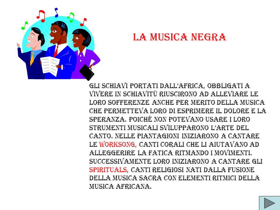 La musica negra