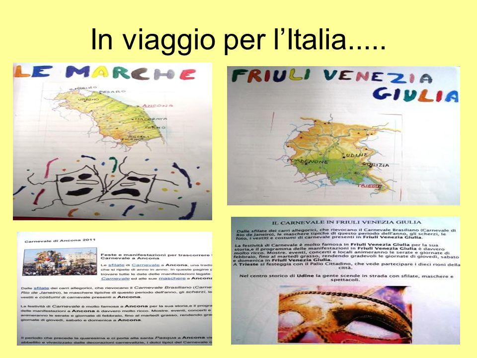 In viaggio per l'Italia.....