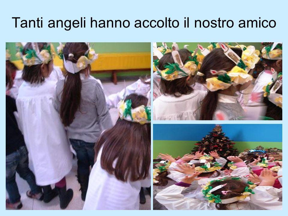 Tanti angeli hanno accolto il nostro amico