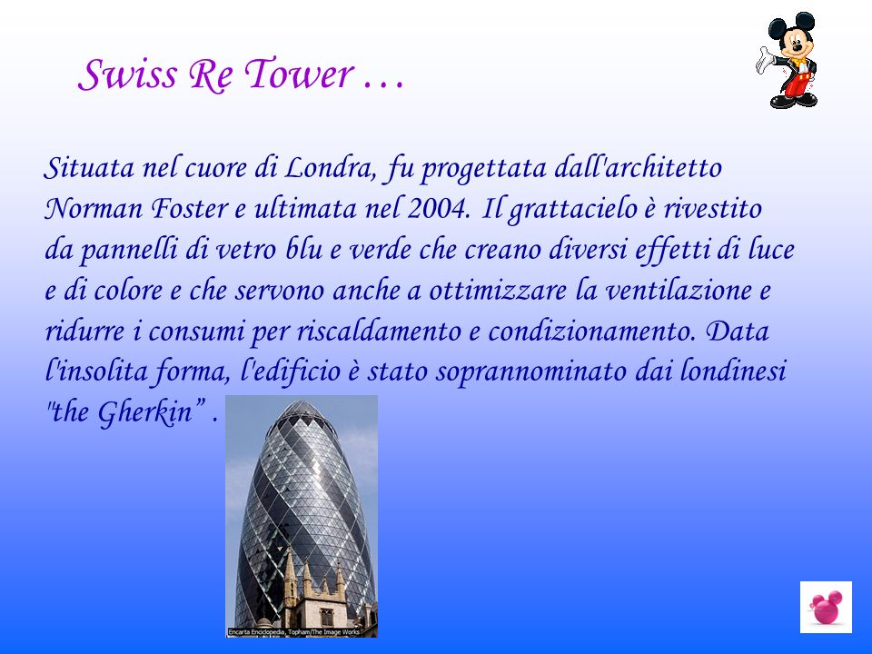Swiss Re Tower …