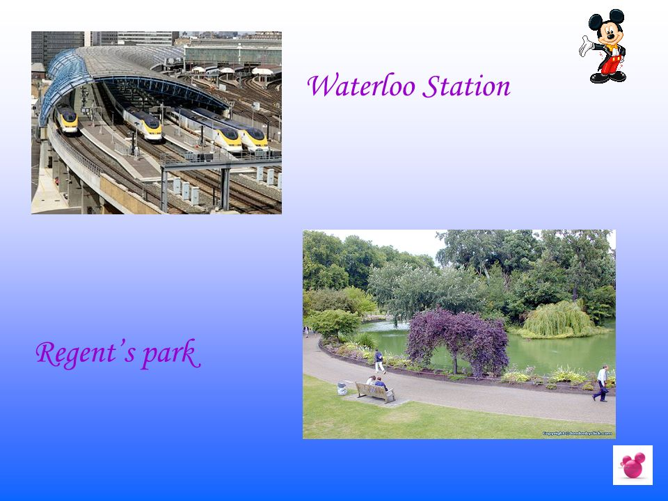 Waterloo Station Regent's park