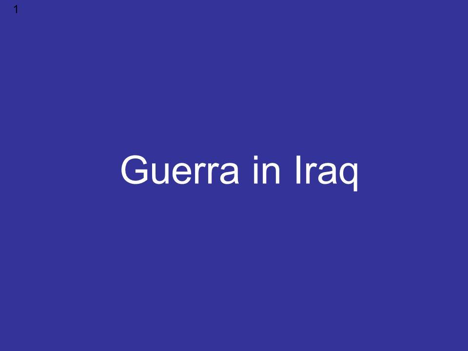 1 Guerra in Iraq