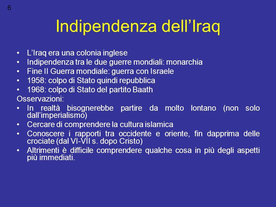 Indipendenza dell'Iraq