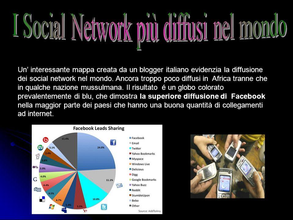 I Social Network più diffusi nel mondo
