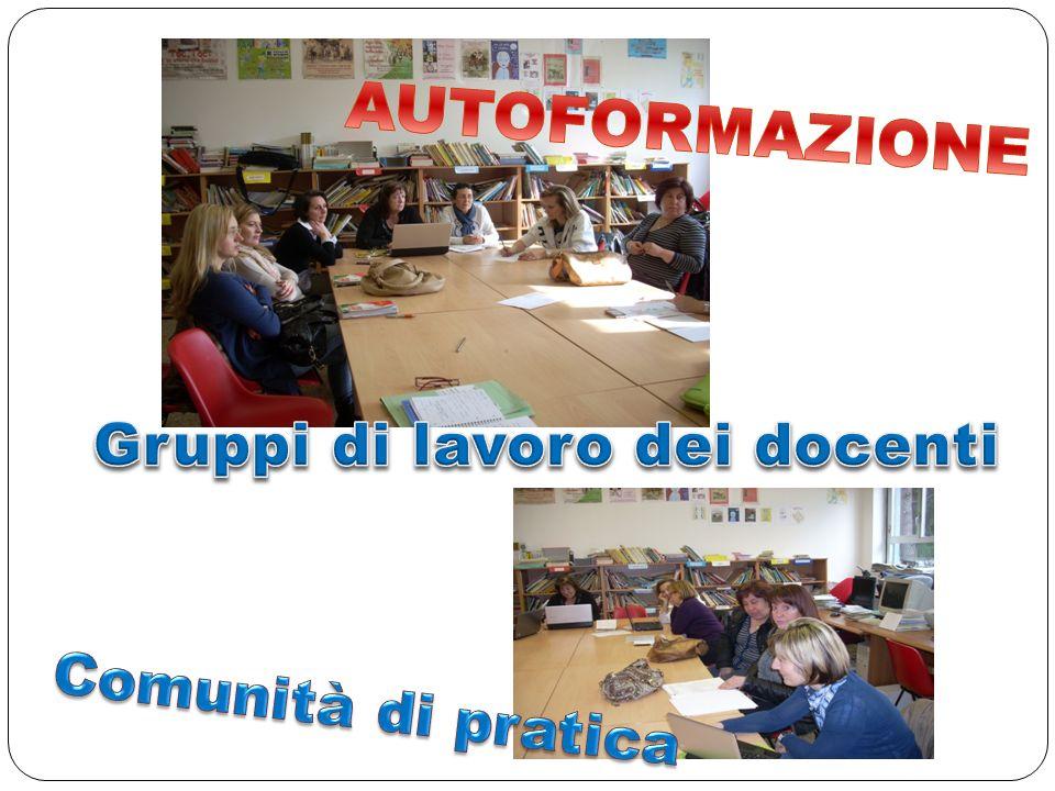 Gruppi di lavoro dei docenti