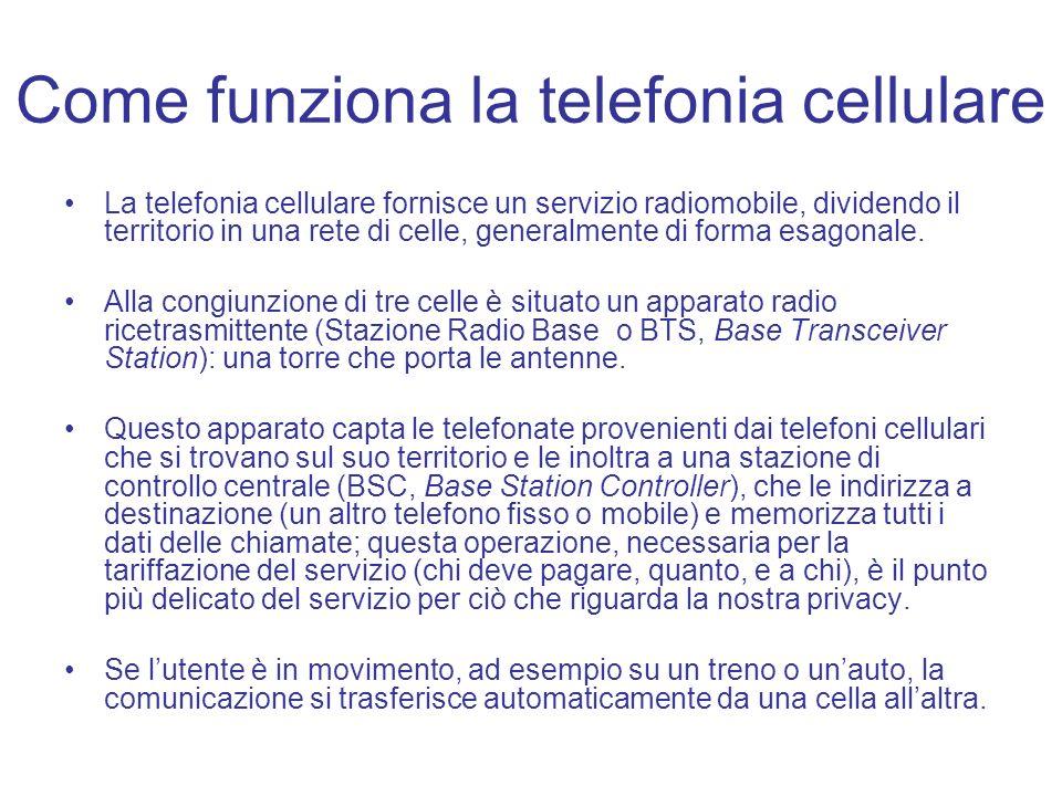 Come funziona la telefonia cellulare