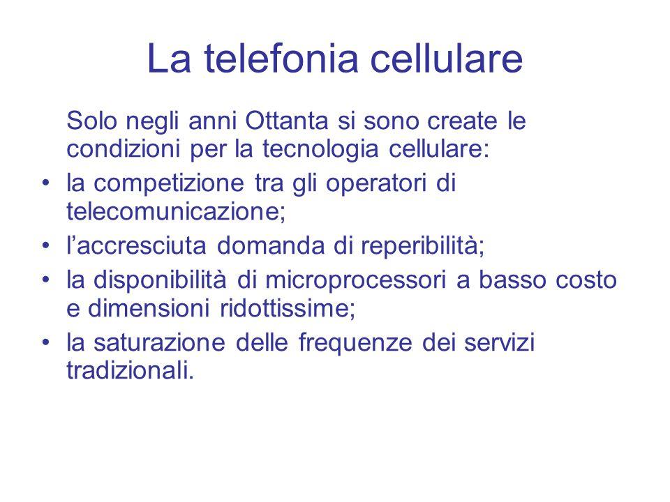 La telefonia cellulare