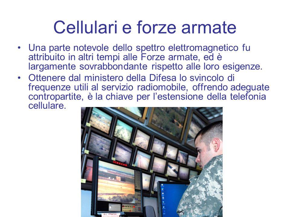 Cellulari e forze armate