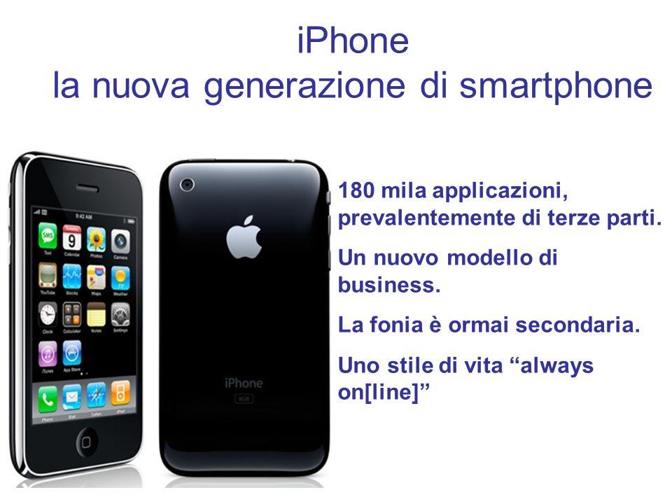 iPhone la nuova generazione di smartphone