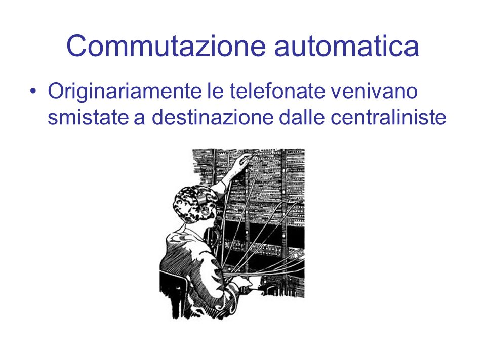 Commutazione automatica