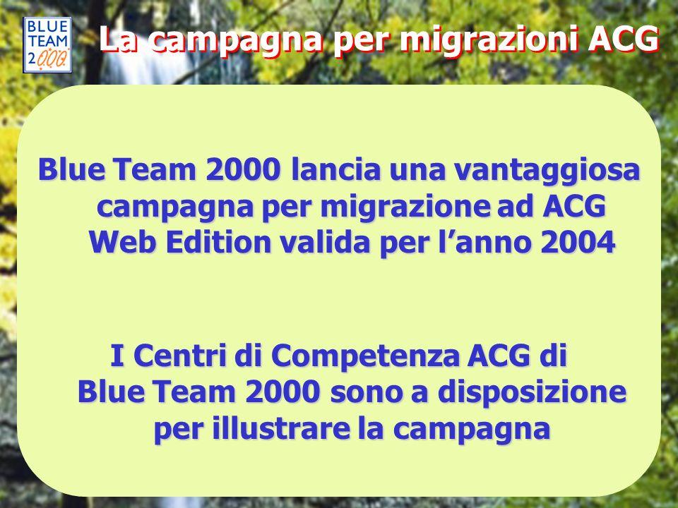 La campagna per migrazioni ACG