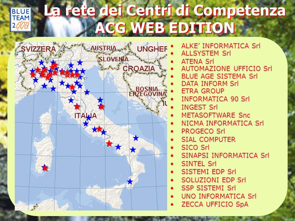 La rete dei Centri di Competenza ACG WEB EDITION