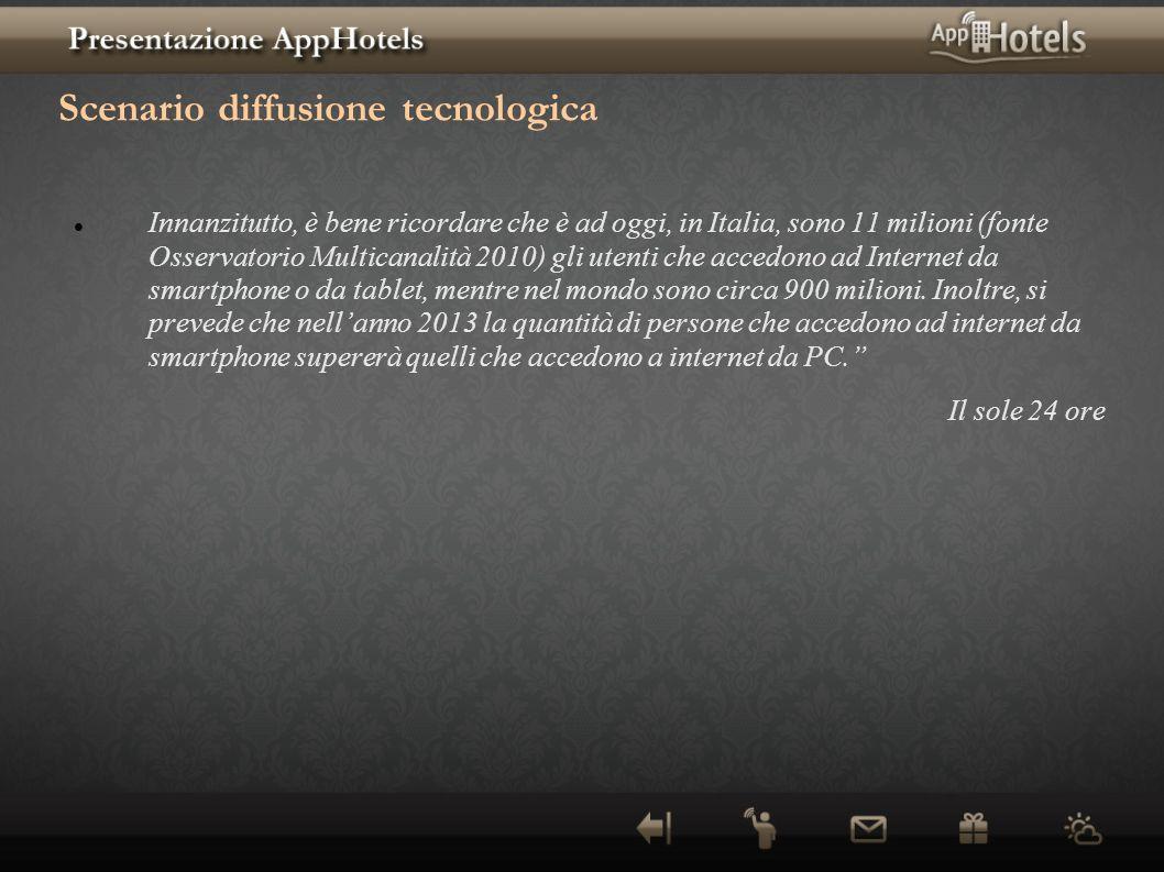 Scenario diffusione tecnologica
