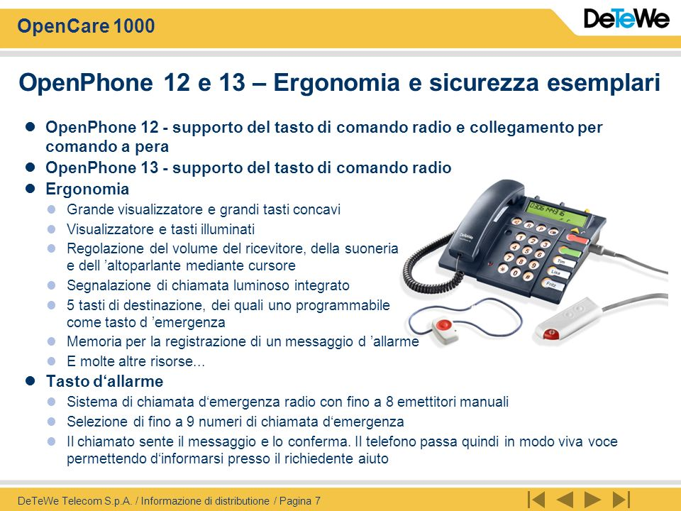 OpenPhone 12 e 13 – Ergonomia e sicurezza esemplari