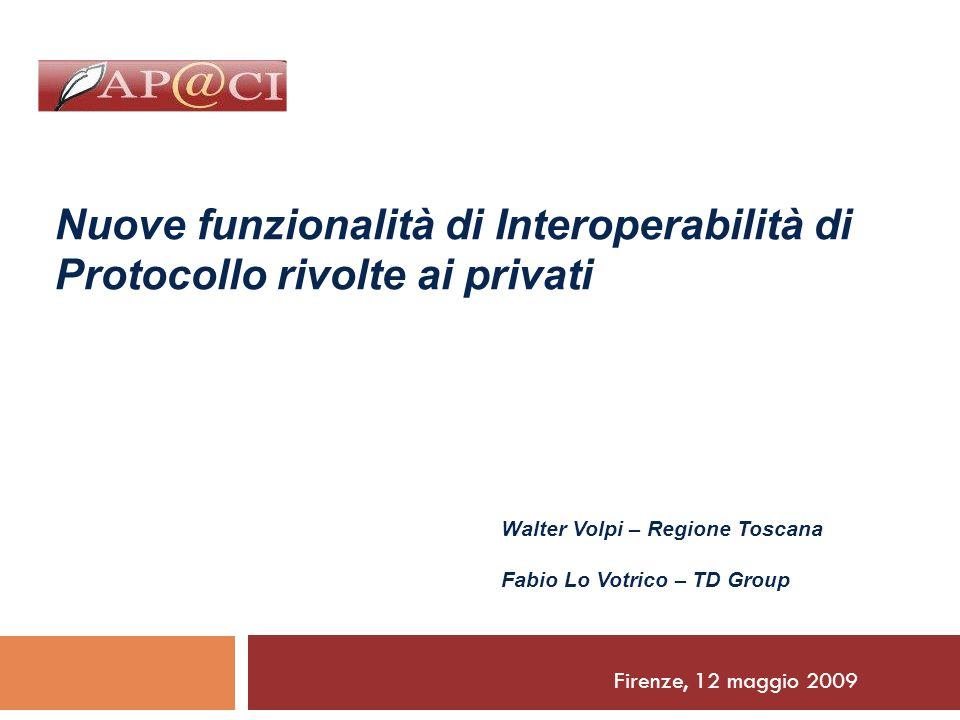Nuove funzionalità di Interoperabilità di Protocollo rivolte ai privati