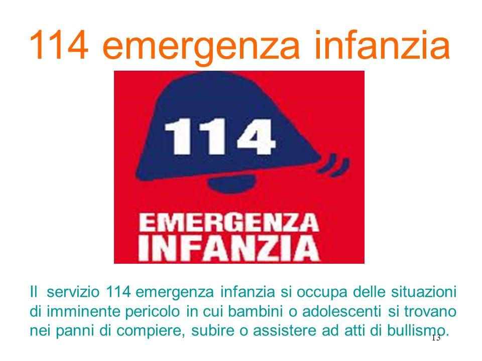 114 emergenza infanzia