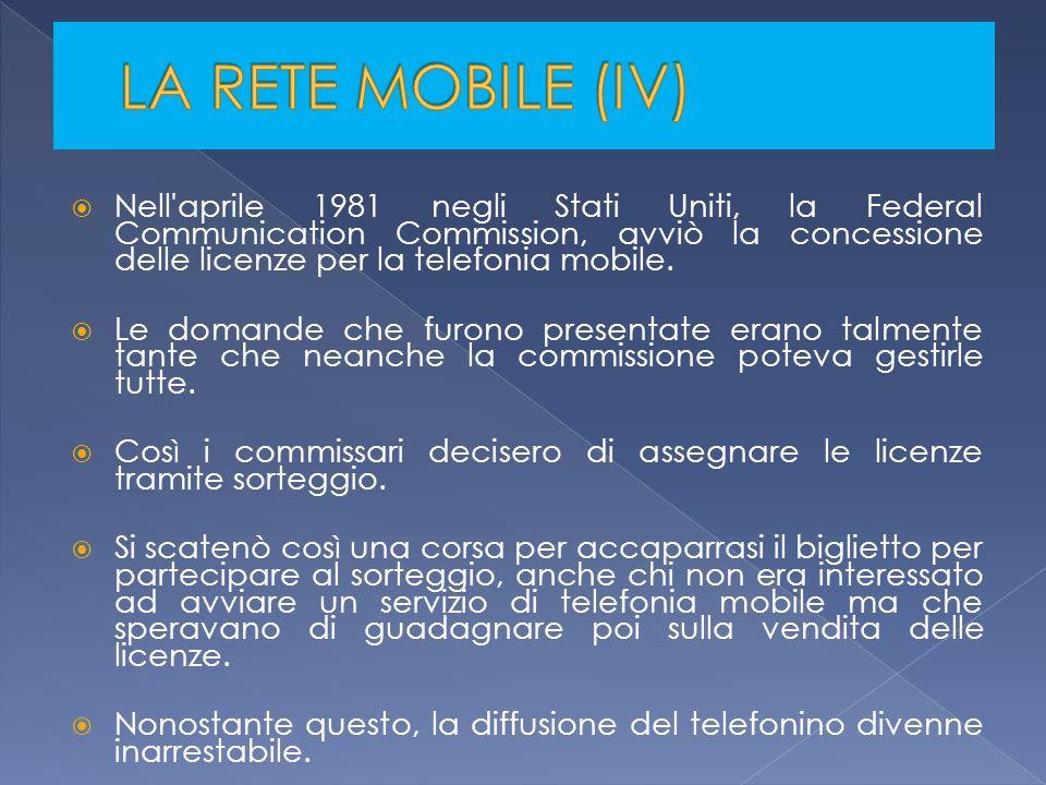 LA RETE MOBILE (IV)