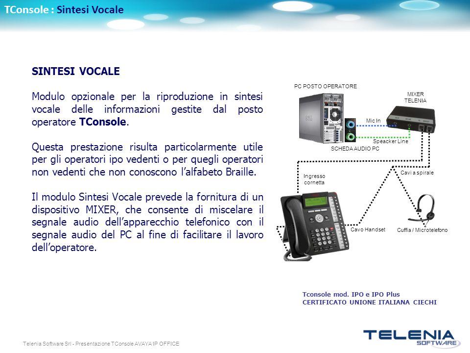 Cuffia / Microtelefono