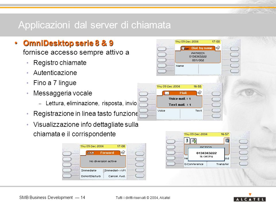 Applicazioni dal server di chiamata