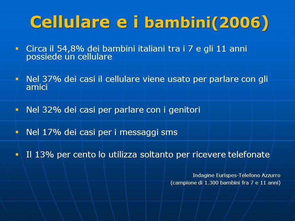 Cellulare e i bambini(2006)