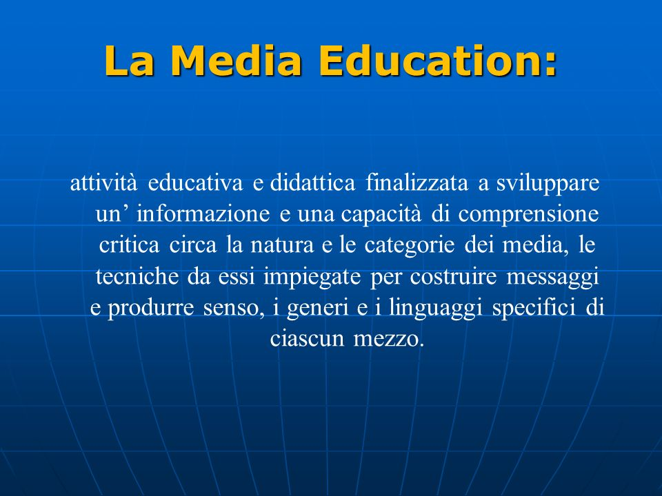 La Media Education: