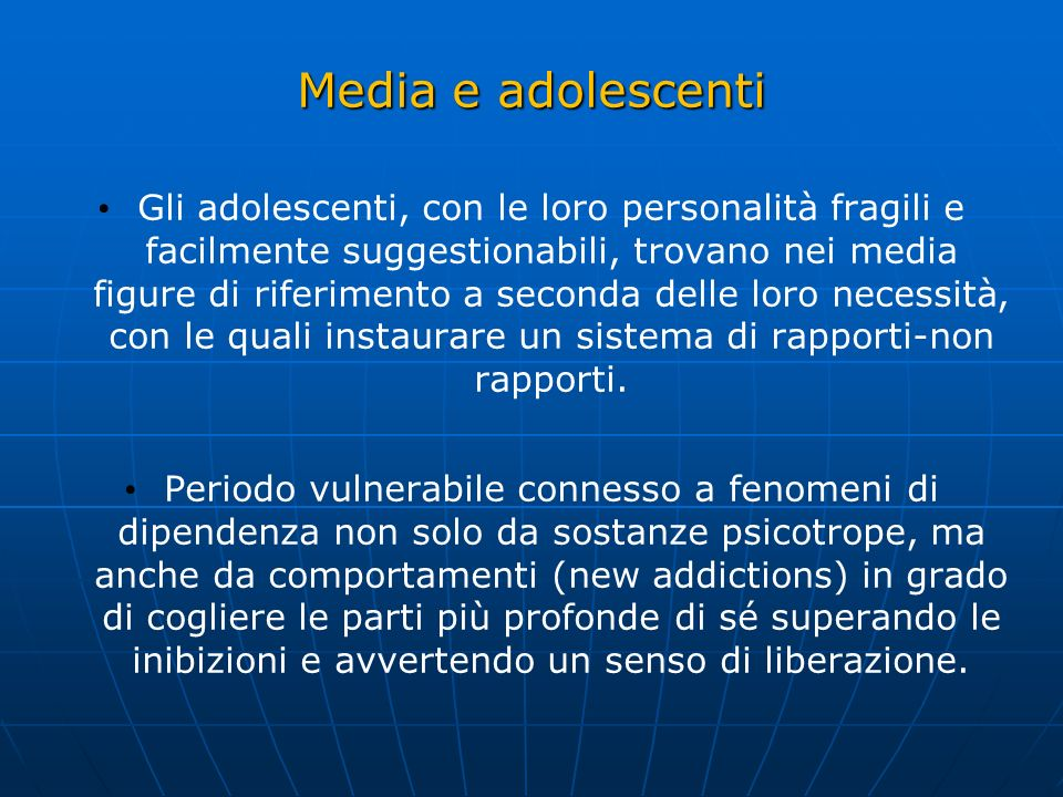 Media e adolescenti