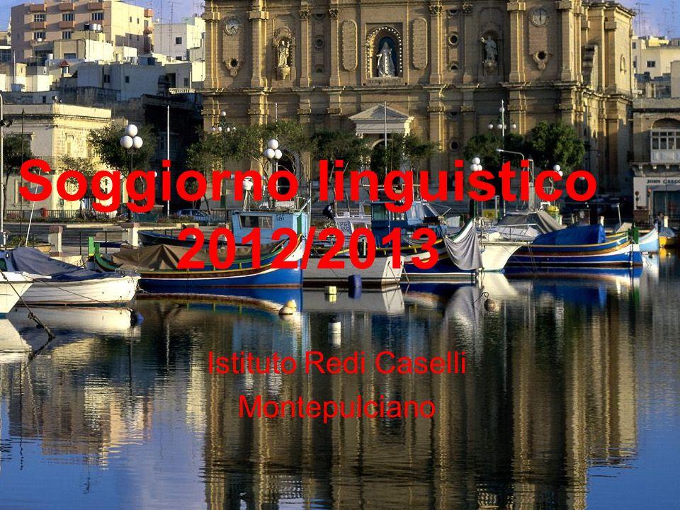 Soggiorno linguistico 2012/2013