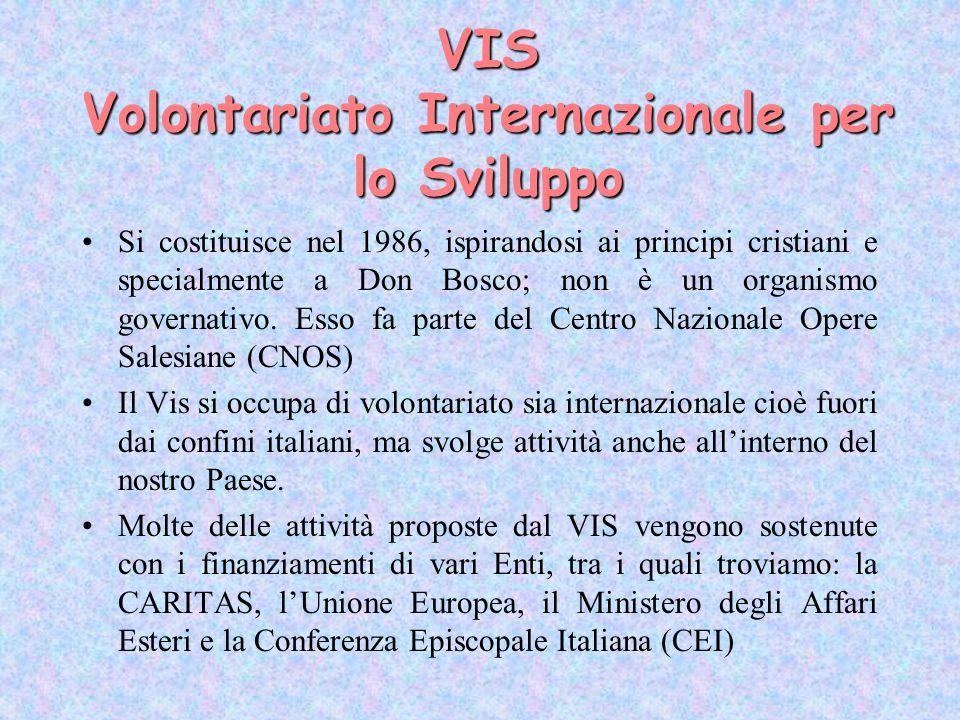 VIS Volontariato Internazionale per lo Sviluppo