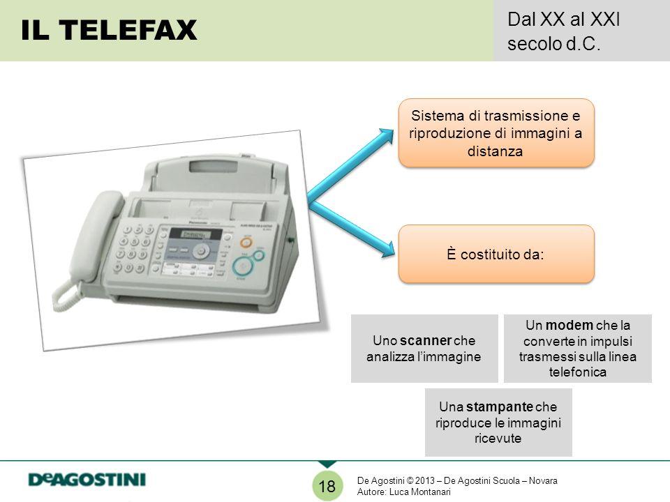IL TELEFAX Dal XX al XXI secolo d.C. 18