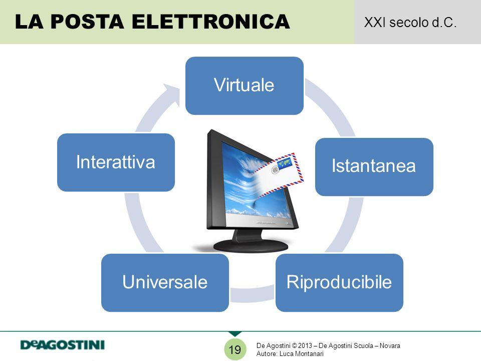 LA POSTA ELETTRONICA Virtuale Istantanea Riproducibile Universale