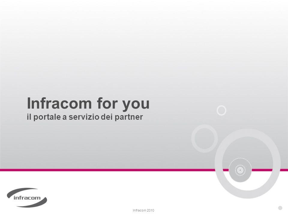 Infracom for you il portale a servizio dei partner