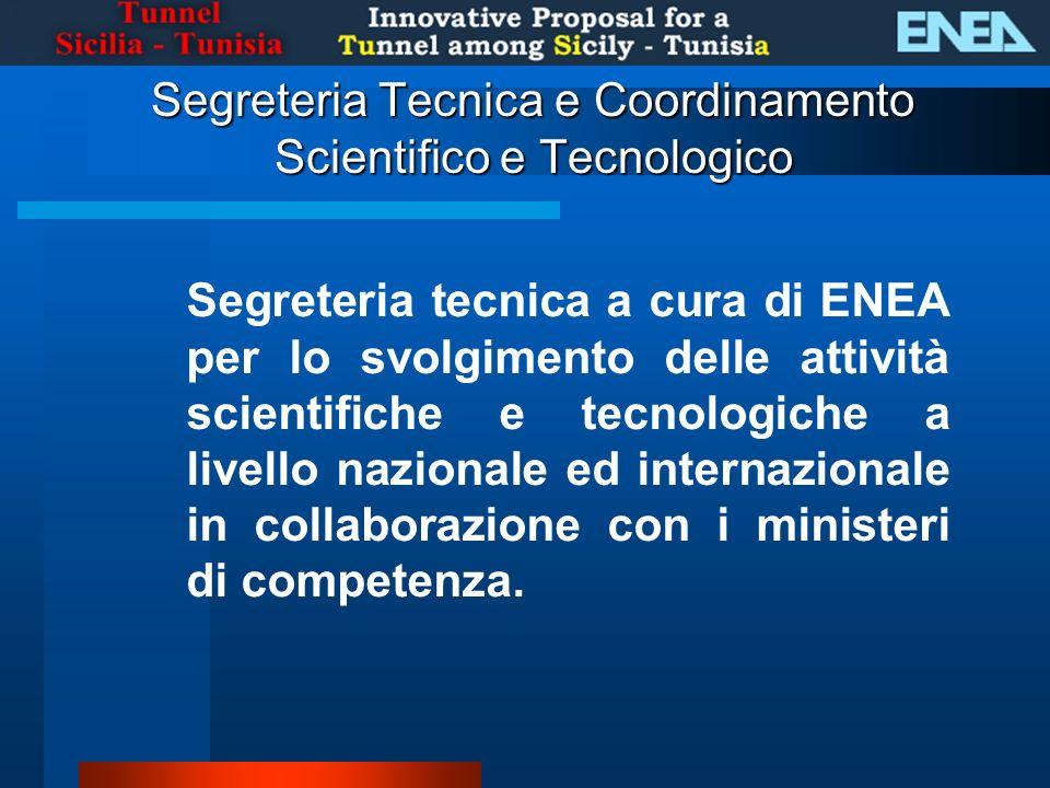 Segreteria Tecnica e Coordinamento Scientifico e Tecnologico