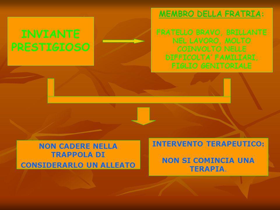INVIANTE PRESTIGIOSO MEMBRO DELLA FRATRIA: