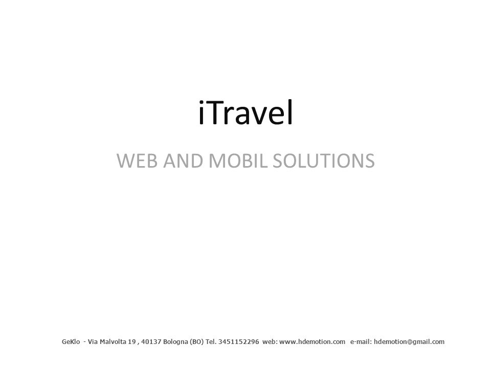 WEB AND MOBIL SOLUTIONS