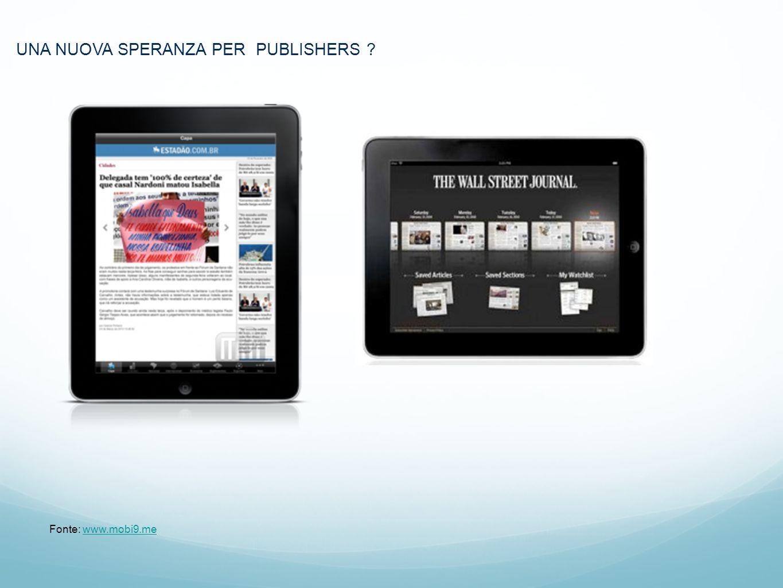 UNA NUOVA SPERANZA PER PUBLISHERS