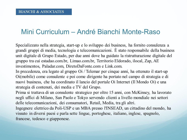 Mini Curriculum – André Bianchi Monte-Raso