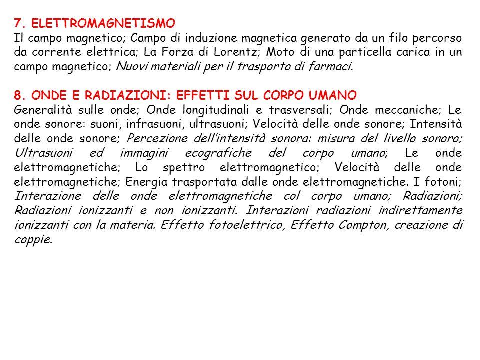 7. ELETTROMAGNETISMO