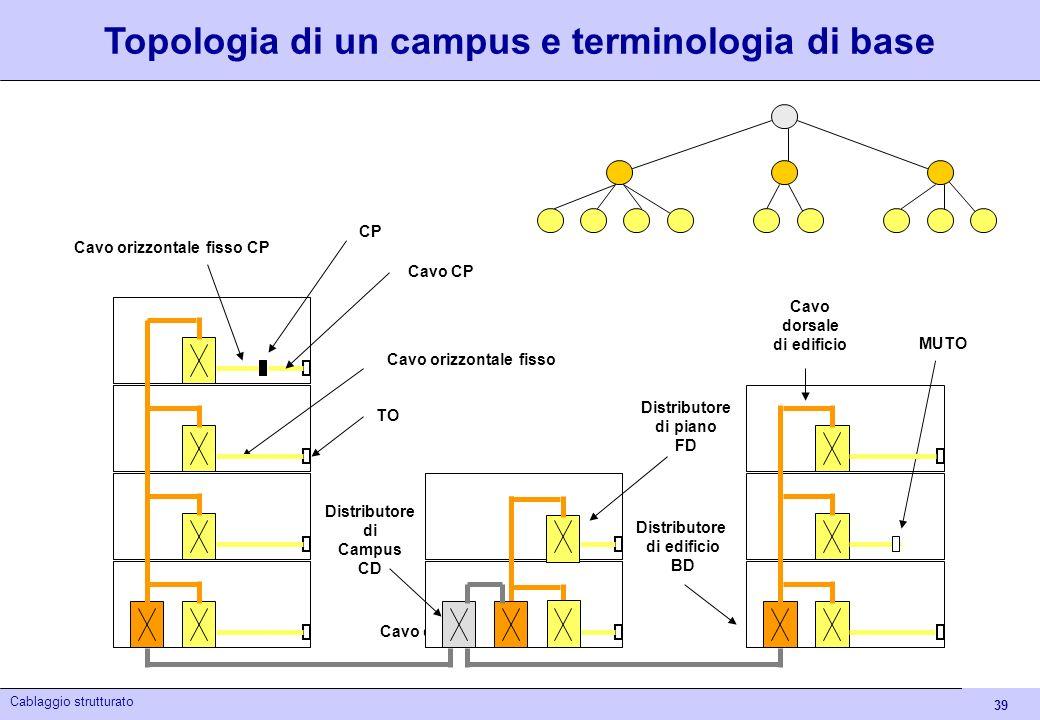 Topologia di un campus e terminologia di base