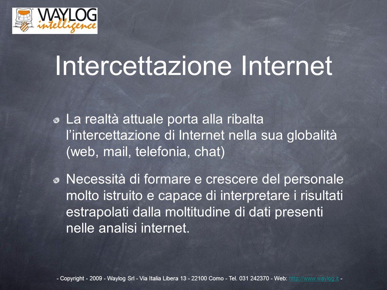 Intercettazione Internet