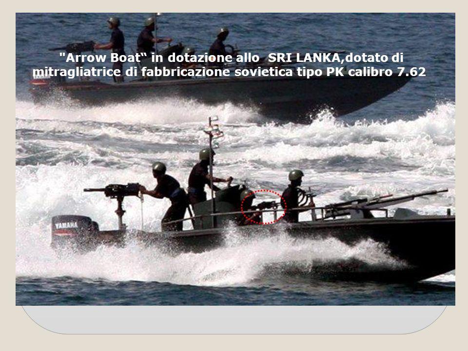 Arrow Boat in dotazione allo SRI LANKA,dotato di