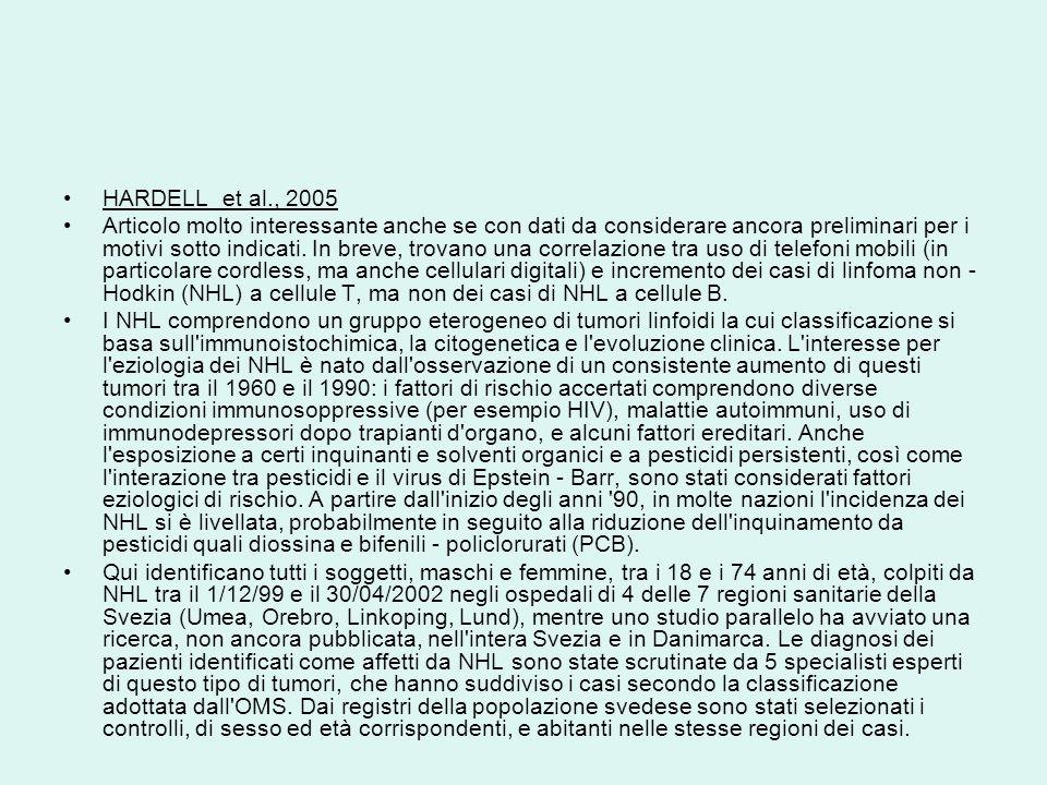 HARDELL et al., 2005