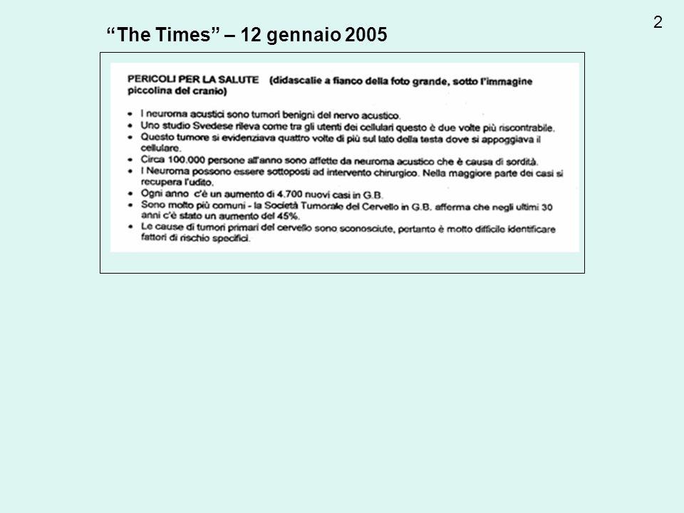 2 The Times – 12 gennaio 2005