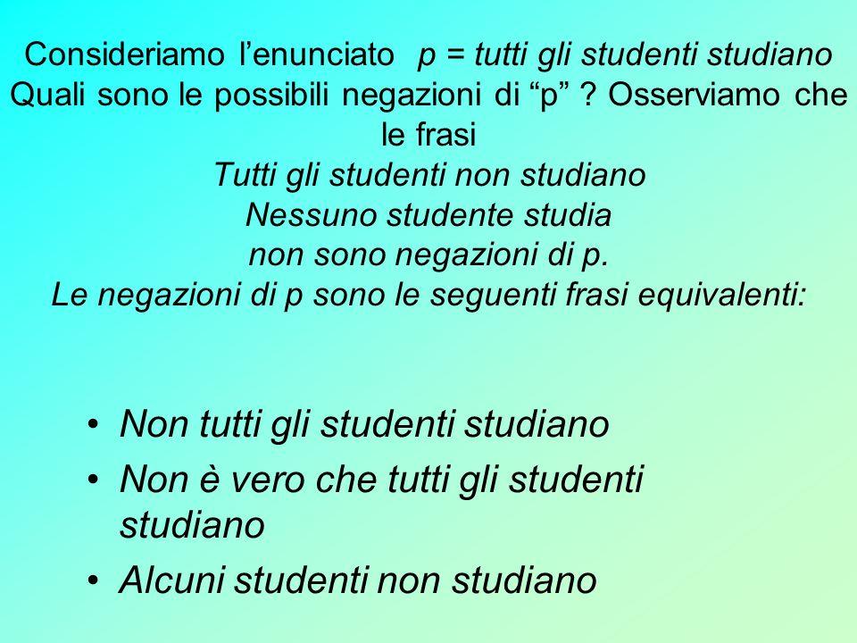 Non tutti gli studenti studiano