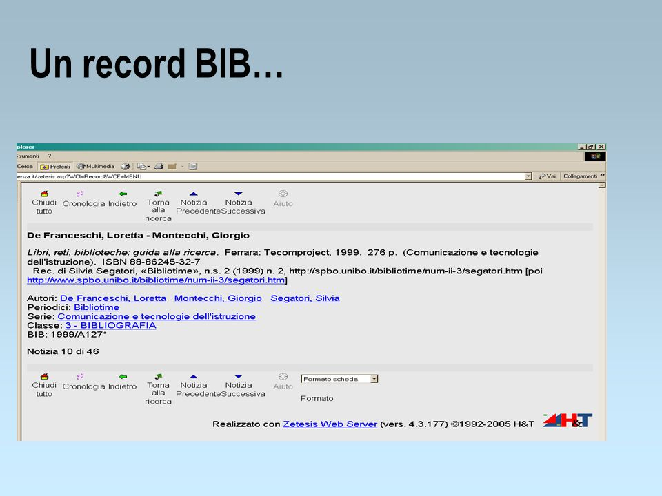 Un record BIB…