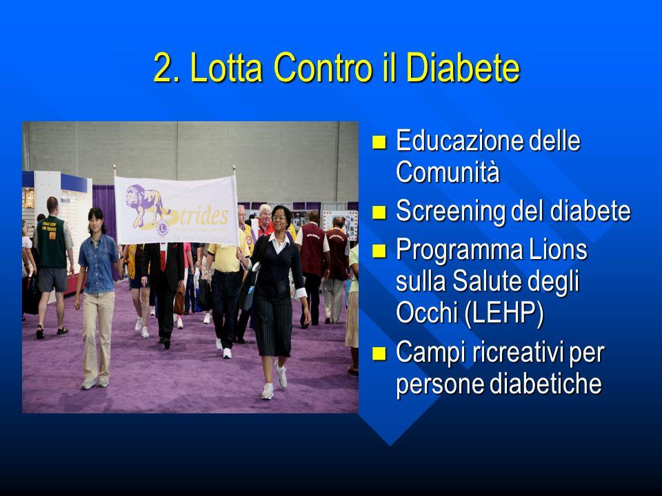 2. Lotta Contro il Diabete