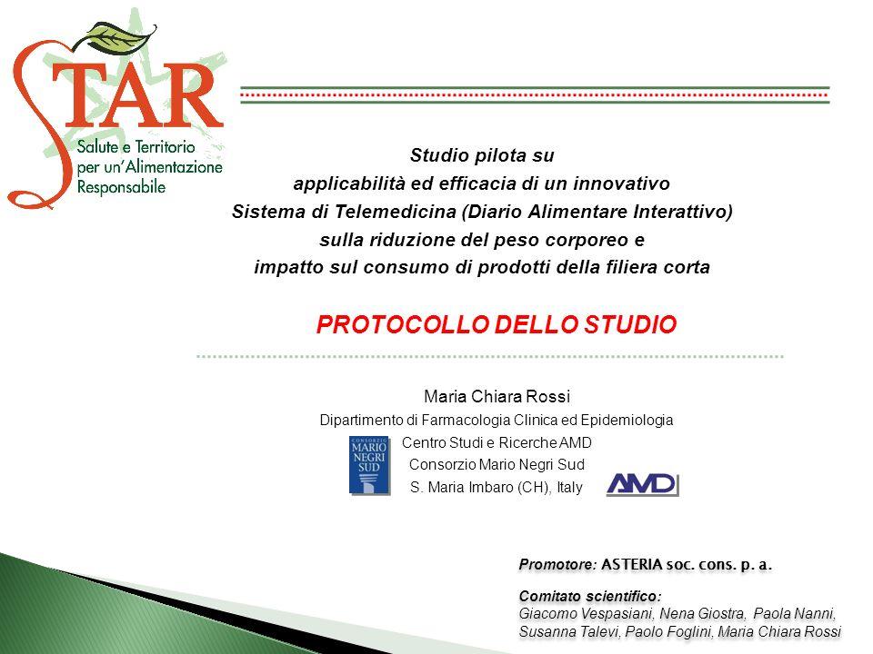 PROTOCOLLO DELLO STUDIO