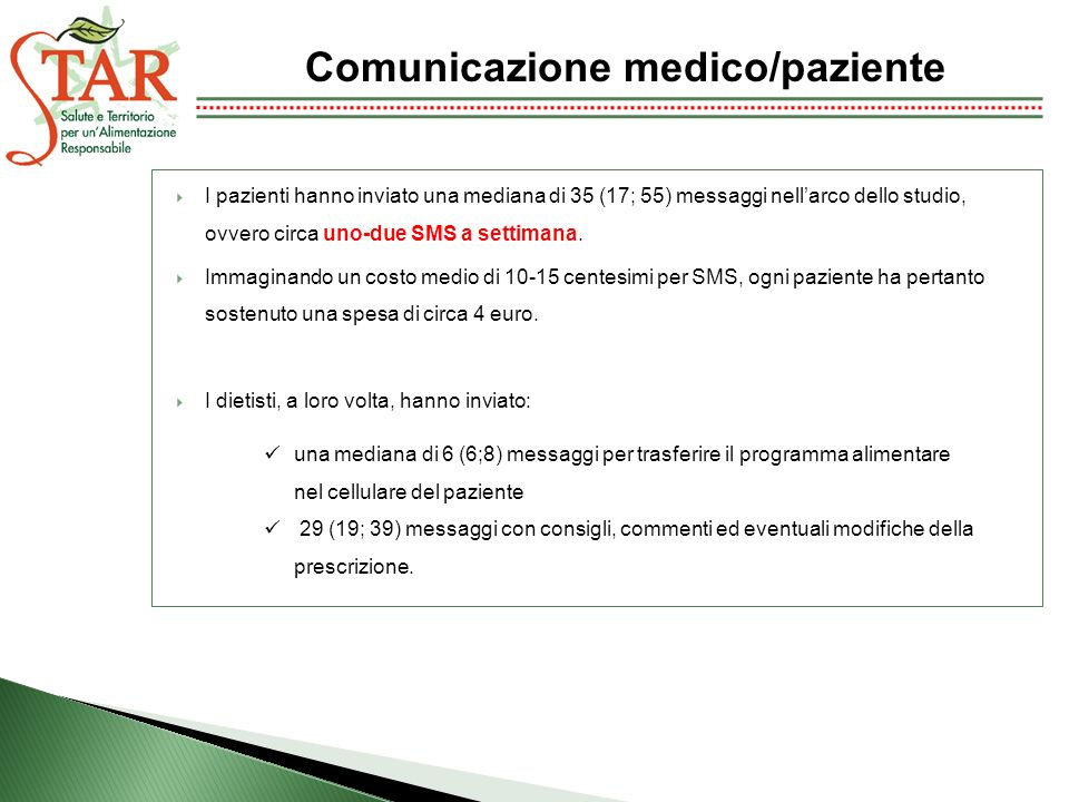 Comunicazione medico/paziente