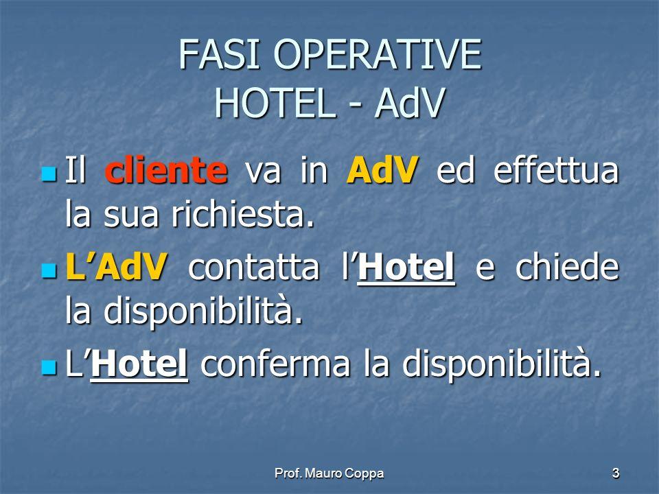 FASI OPERATIVE HOTEL - AdV