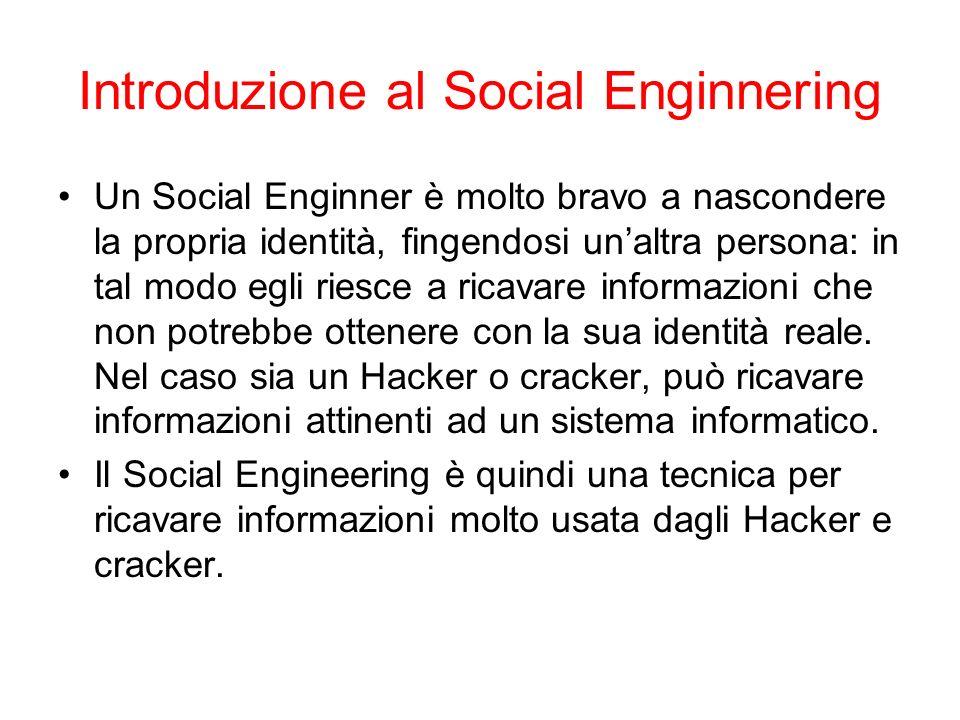 Introduzione al Social Enginnering